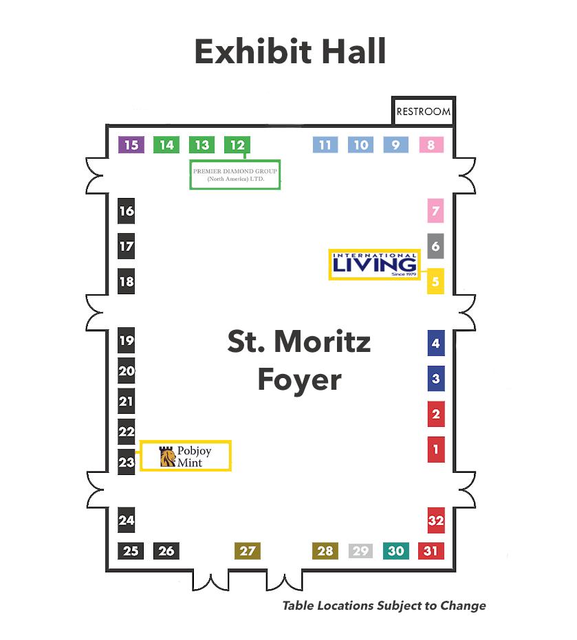 Networking Hall Floor Plan